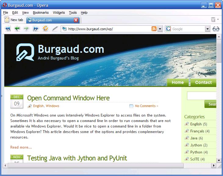 Burgaud.com 6.0